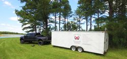 Ford F-450 and 24' enclosed trailer