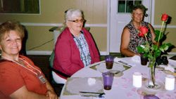 Linda Hillman, Marilyn Page, Becky Ritch