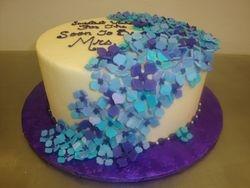 30 serving flower cake $200