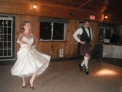 Sara and Russ' First Dance as a married couple.... the Cakewalk!