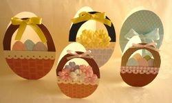 Easter Basket and Egg Cards