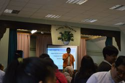 Speech by Dr. Aung Aung Lwin on BFF activities and plans