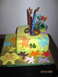 CAKE 4A2- Artist Cake