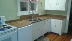 Laminate Counter with Sink