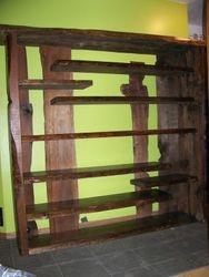 Cedar shelve, natural edge