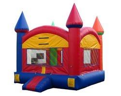 Multicolor Castle Moonwalk $85.00