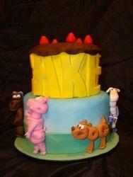 C-A-K-E spells Cake!