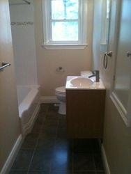 Complete 3 piece washroom