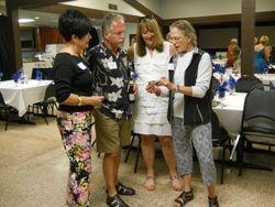 DeeAnn and Gary Mapes, Cathy Osborn Wederquist and Stephanie Maxwell McAdam