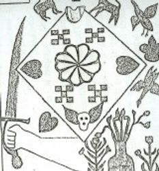 Crest associated with the Soden Family