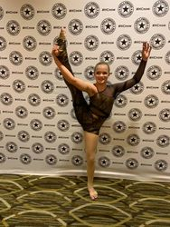 Acro solo with Natalie