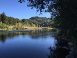 beautiful location along the Mad River