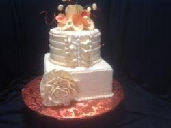 Pinta orchid cake