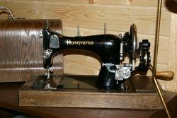 Gammel Husqvarna symaskin