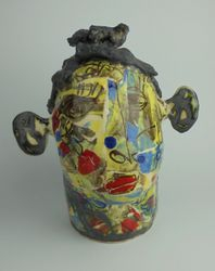 Mary Jones Ceramics.  A kiss and a promise