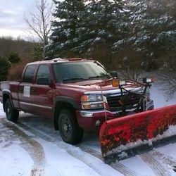 A Plow truck