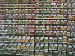 The wall of seeds