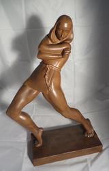 Statue art deco Jan Anteunis