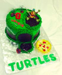 Turtles Cakes