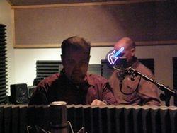 Chris in Studio B