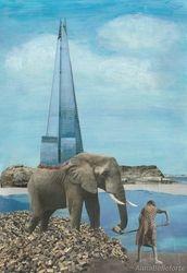 Myth-building:  Elephant & Obelisk