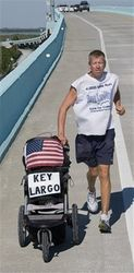 Finish into Key Largo