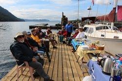 Y.C Breakfast on the docks