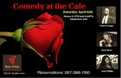 Comedy at the Cafe