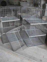 #13/036 10 Square Metal Baskets SOLD