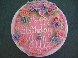 pink birthday 15 serving $55
