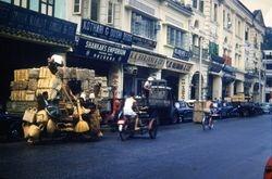 251 Street scene Singapore 1960