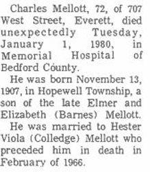 Mellott, Charles - Part 1 - 1980