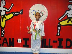 04-01-2012 Yong In Championship Isaiah Leach 2nd pl Forms 3rd pl Breaking 1st pl Weapons 2nd pl Fighting