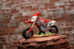 Fondant Motorcycle