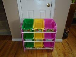 Delta Enterprise 9-Bin Dora Toy Organizer - $30