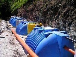 Sistem na bazi aktivnog mulja - Konfiguracija kapaciteta E.S. 1.000