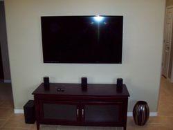 TV 55 inch smart t.v.