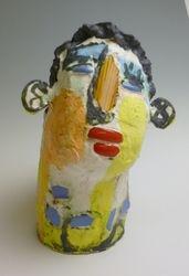 Mary Jones Ceramics. Clear sunny day.  SOLD