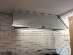 Commercial Rangehood install
