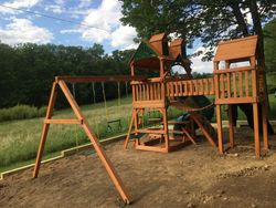 Gorilla playsets wilderness assembly in Baltimore Maryland