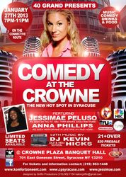 Comedy at the Crowne