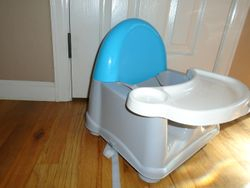 Safety 1st Easy Care Swing Tray Feeding Booster - $10