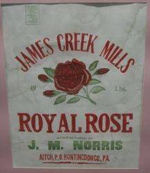 J. M. Norris James Creek Mill Bag