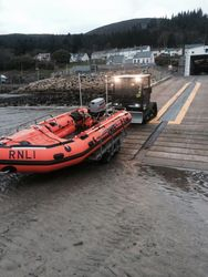 Newcastle RNLI new D class lifeboat Eliza