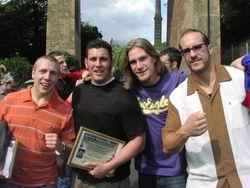Bryan Danielson, Colt Cabana, Chris Hero, Claudio Castagnoli