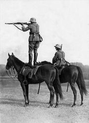 Cavalrymen Shooting Challenge: