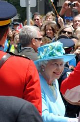 The Queen's Arrival