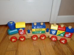 Melissa & Doug Mickey Mouse & Friends Stacking Construction Train - $10