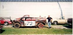 Dad's 02 2nd place Feature car