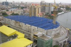 Steel Structure for Eko Hall in Lagos - NIGERIA